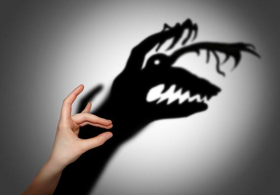 ترس هیولایی در ذهن