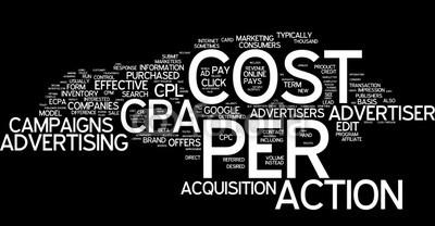 تبلیغ اینترنتی – CPA هزینه بر اساس اقدام کاربر