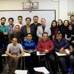 جلسه پایانی کلاس دانشگاه آزاد تهران مرکز